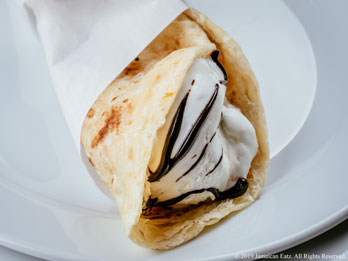 Roti Ice Cream Sandwich